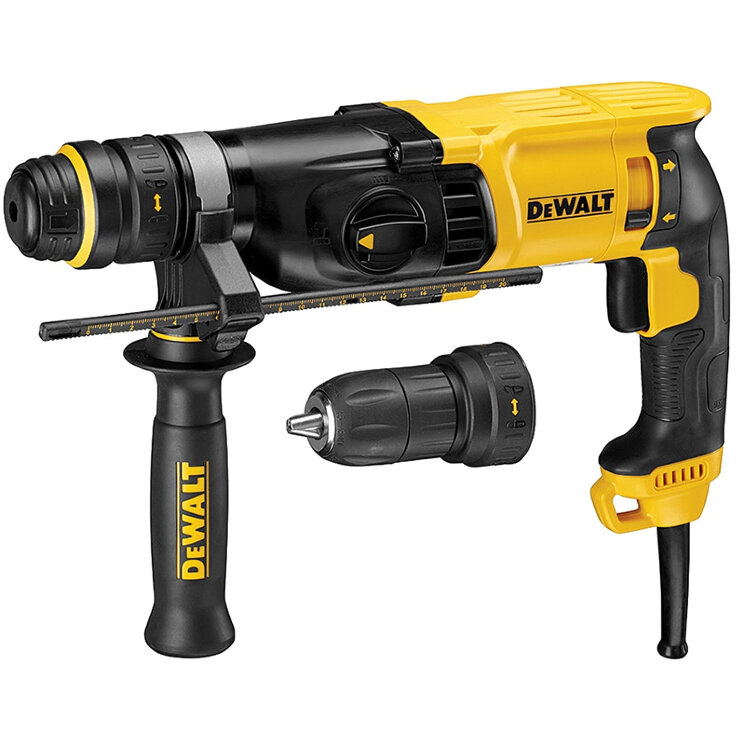 Перфоратор DeWALT  D 25134 K-KS, SDS+, 800 Вт